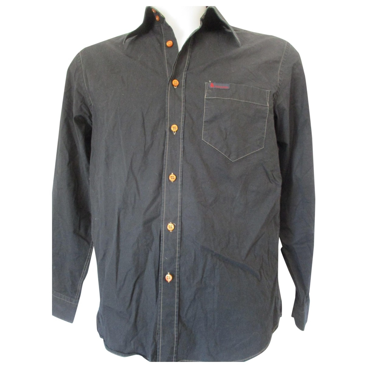 Dolce & Gabbana \N Black Cotton Shirts for Men L International