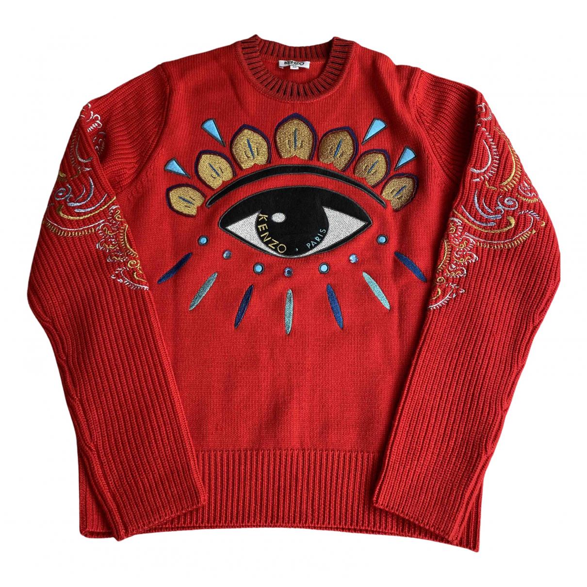 Kenzo N Red Wool Knitwear for Women M International