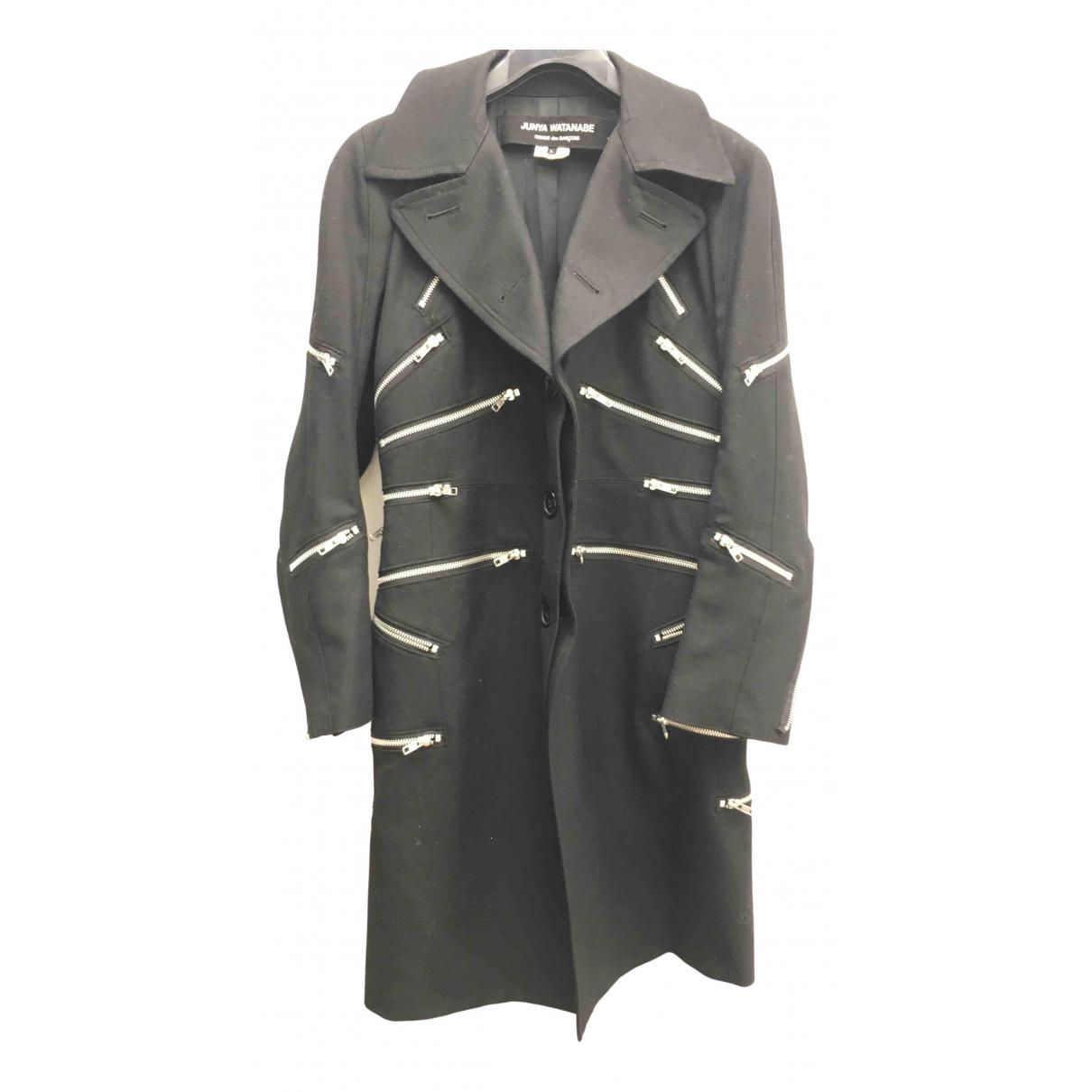 Junya Watanabe - Manteau   pour femme en coton - noir