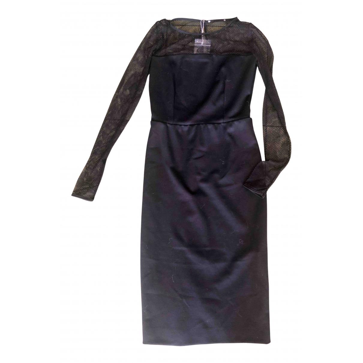 Max Mara - Robe   pour femme en laine - noir