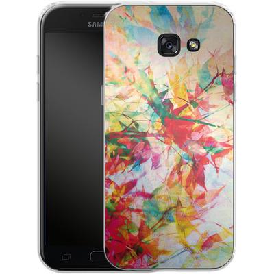 Samsung Galaxy A5 (2017) Silikon Handyhuelle - Abstract Autumn 2 von Mareike Bohmer