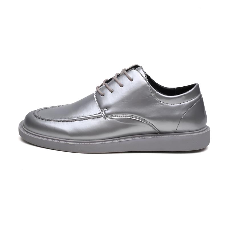 Ericdress Plain Lace-Up Low-Cut Upper Men's Work Shoes