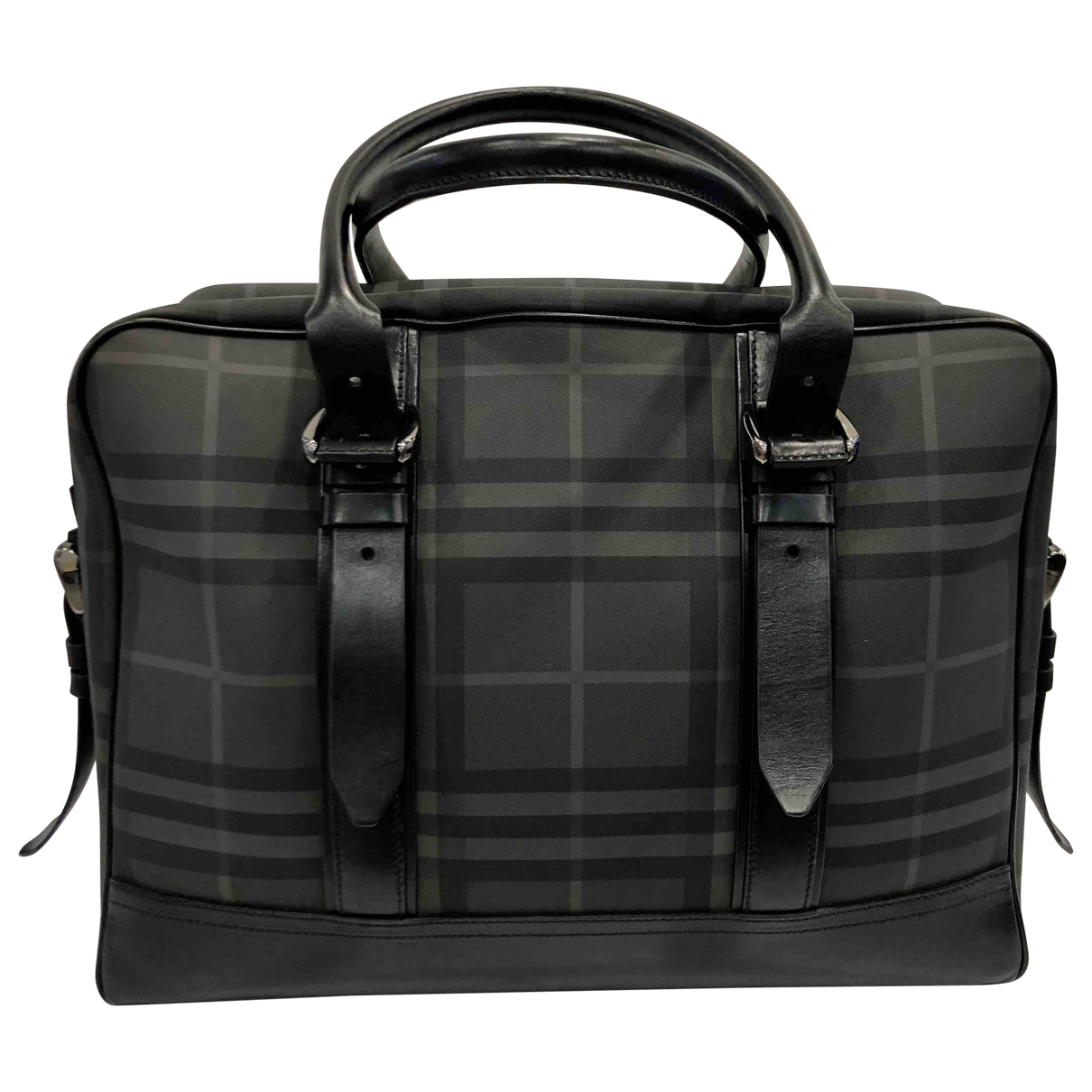 Burberry \N Black Cloth bag for Men \N