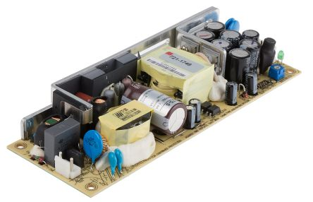 Mean Well , 75W Embedded Switch Mode Power Supply SMPS, 5V dc, Open Frame