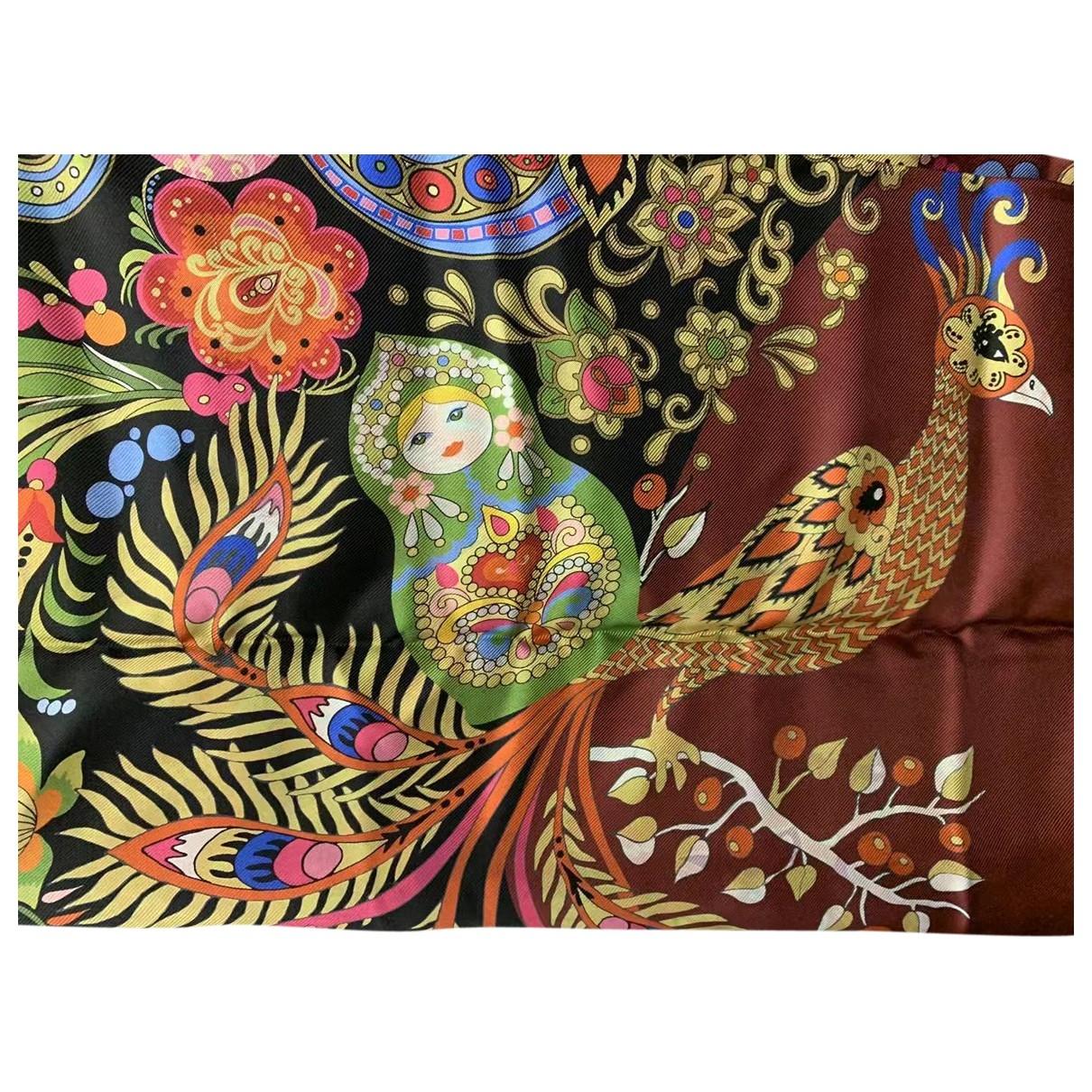 Frey Wille \N Red Silk scarf for Women \N