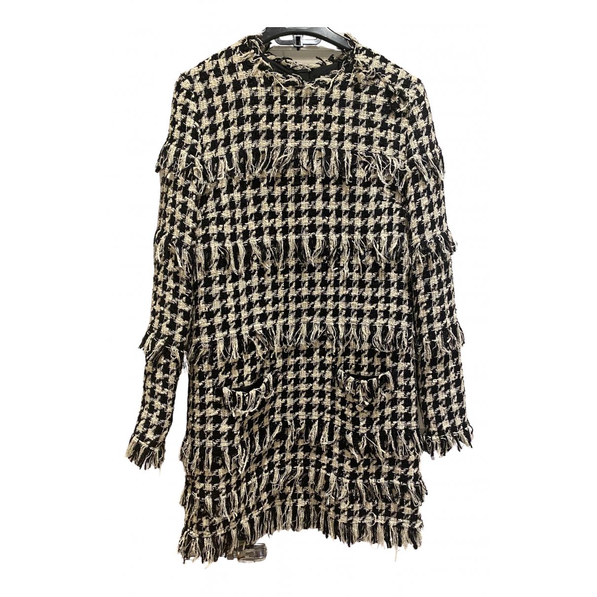 Msgm \N Kleid in  Schwarz Tweed
