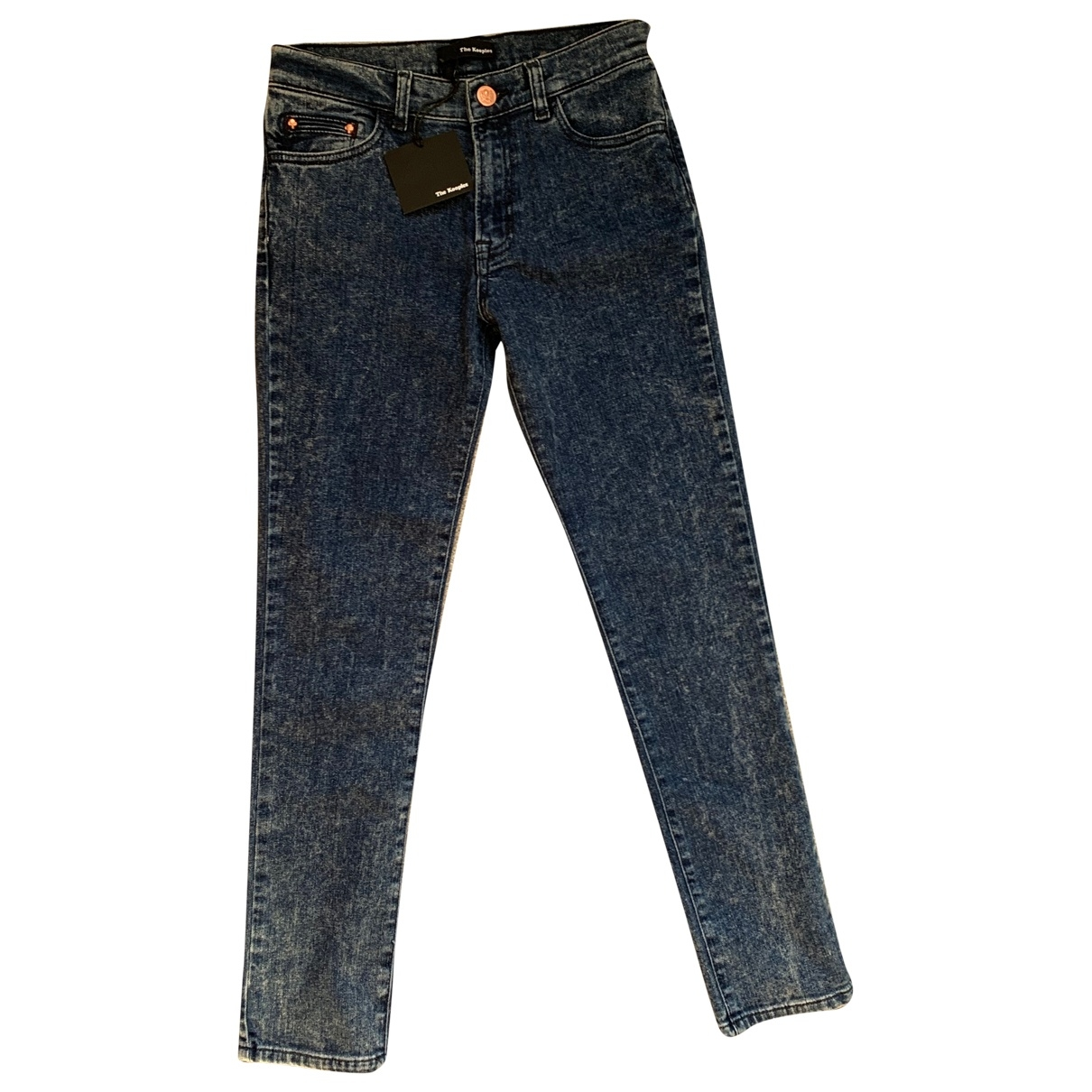 The Kooples \N Blue Cotton - elasthane Jeans for Women 25 US