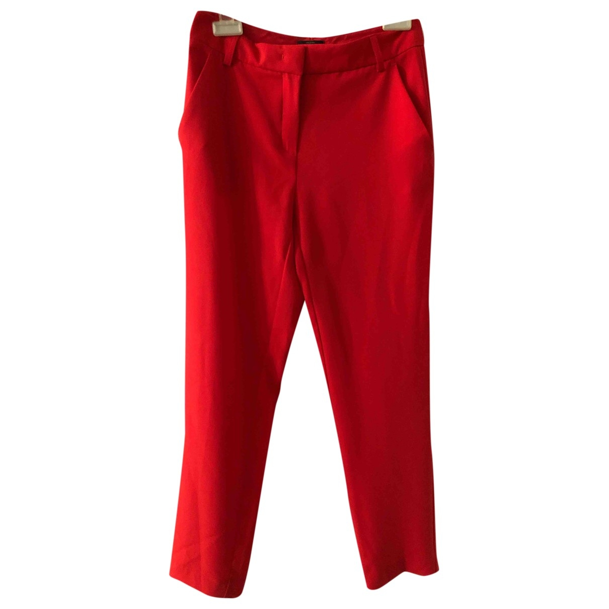 Pinko \N Red Trousers for Women 38 IT