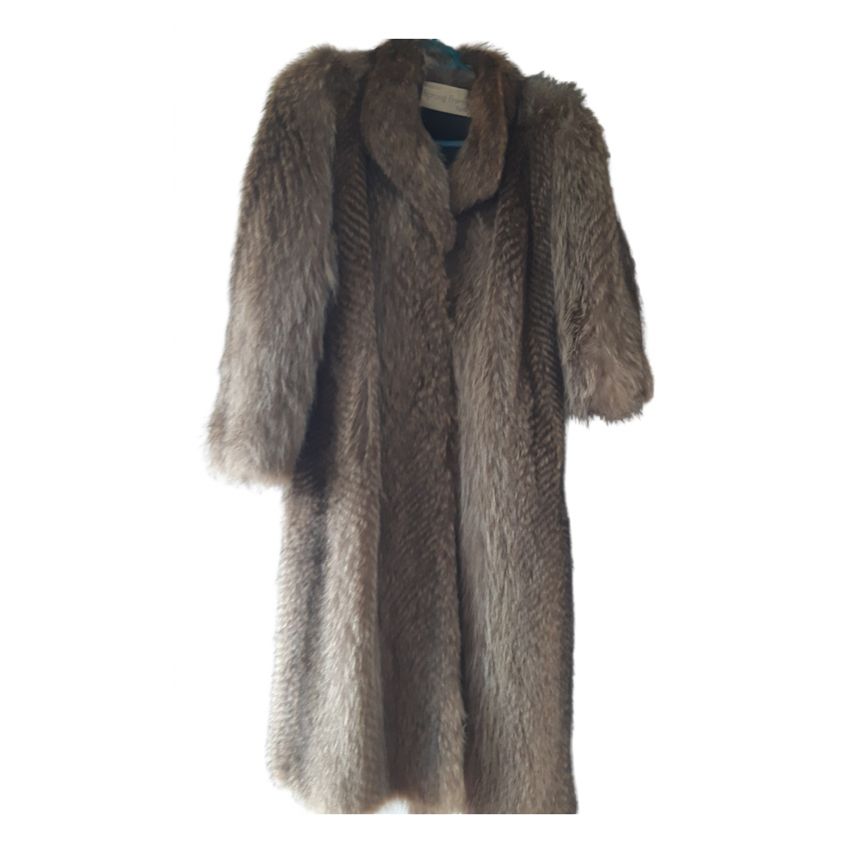 Sprung Frères N Brown Fur coat for Women One Size FR