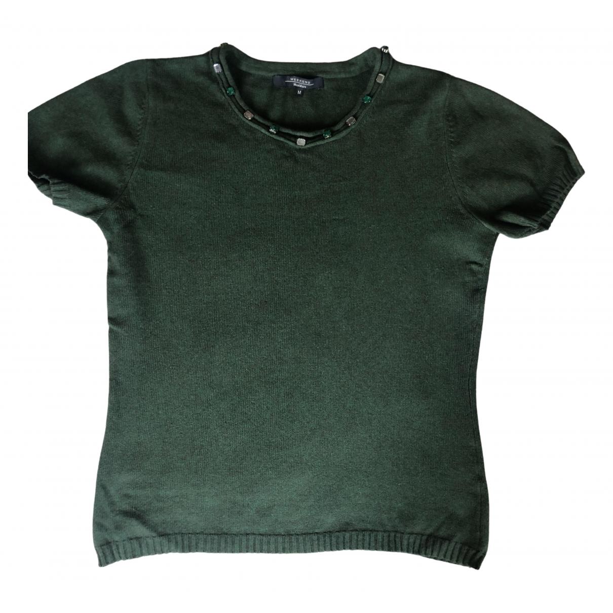 Max Mara - Top   pour femme en laine - vert