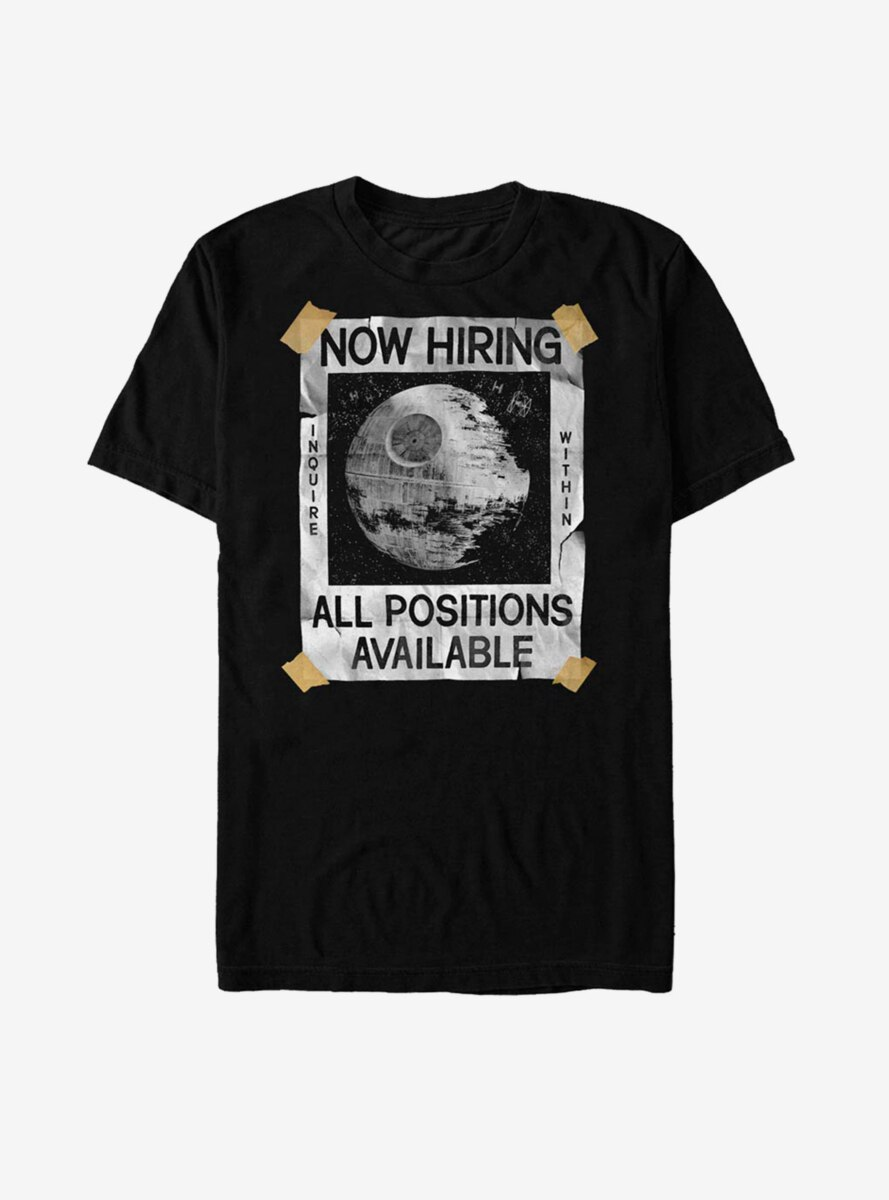Star Wars All Positions Available T-Shirt