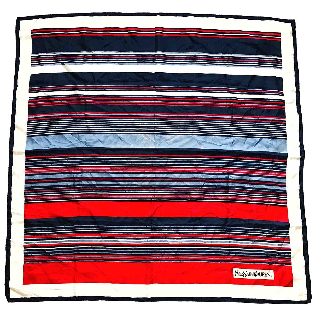 Yves Saint Laurent \N Multicolour Silk Silk handkerchief for Women \N