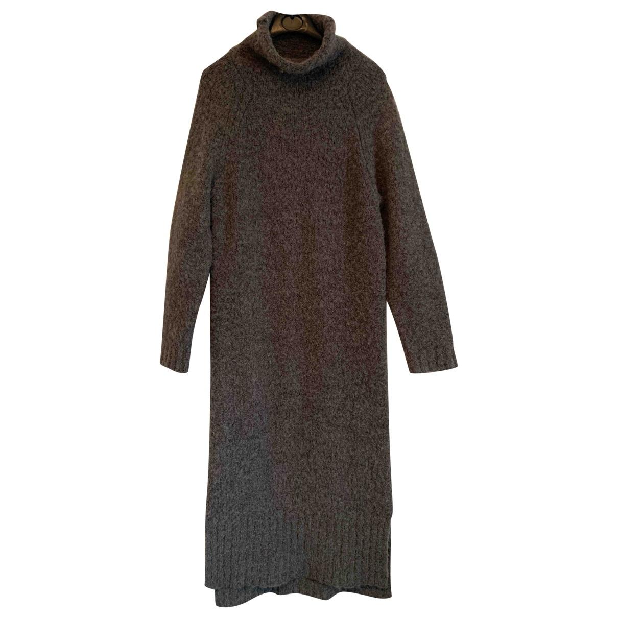 Whistles \N Kleid in  Grau Wolle