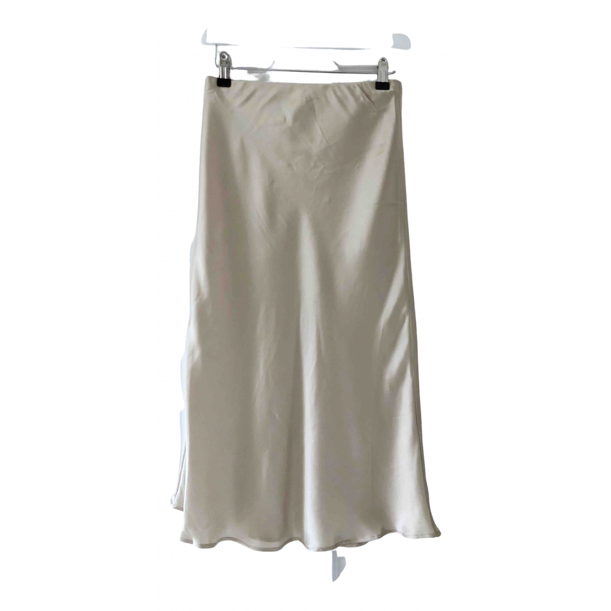 Silk Laundry \N Rocke in  Gold Seide