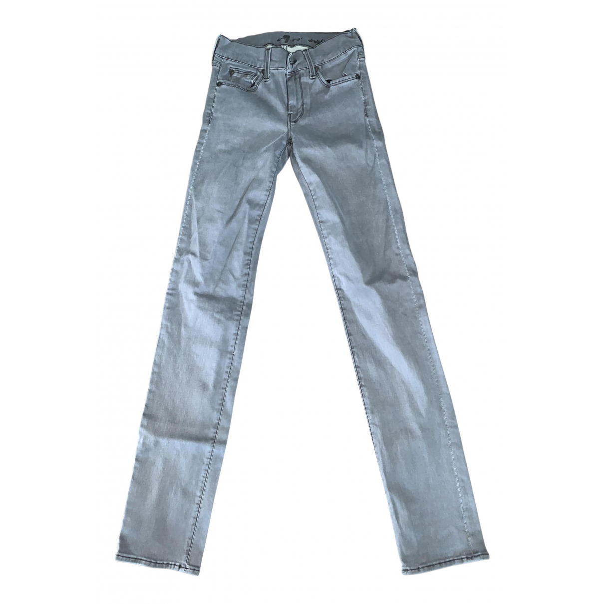 7 For All Mankind N Grey Denim - Jeans Jeans for Women 26 US