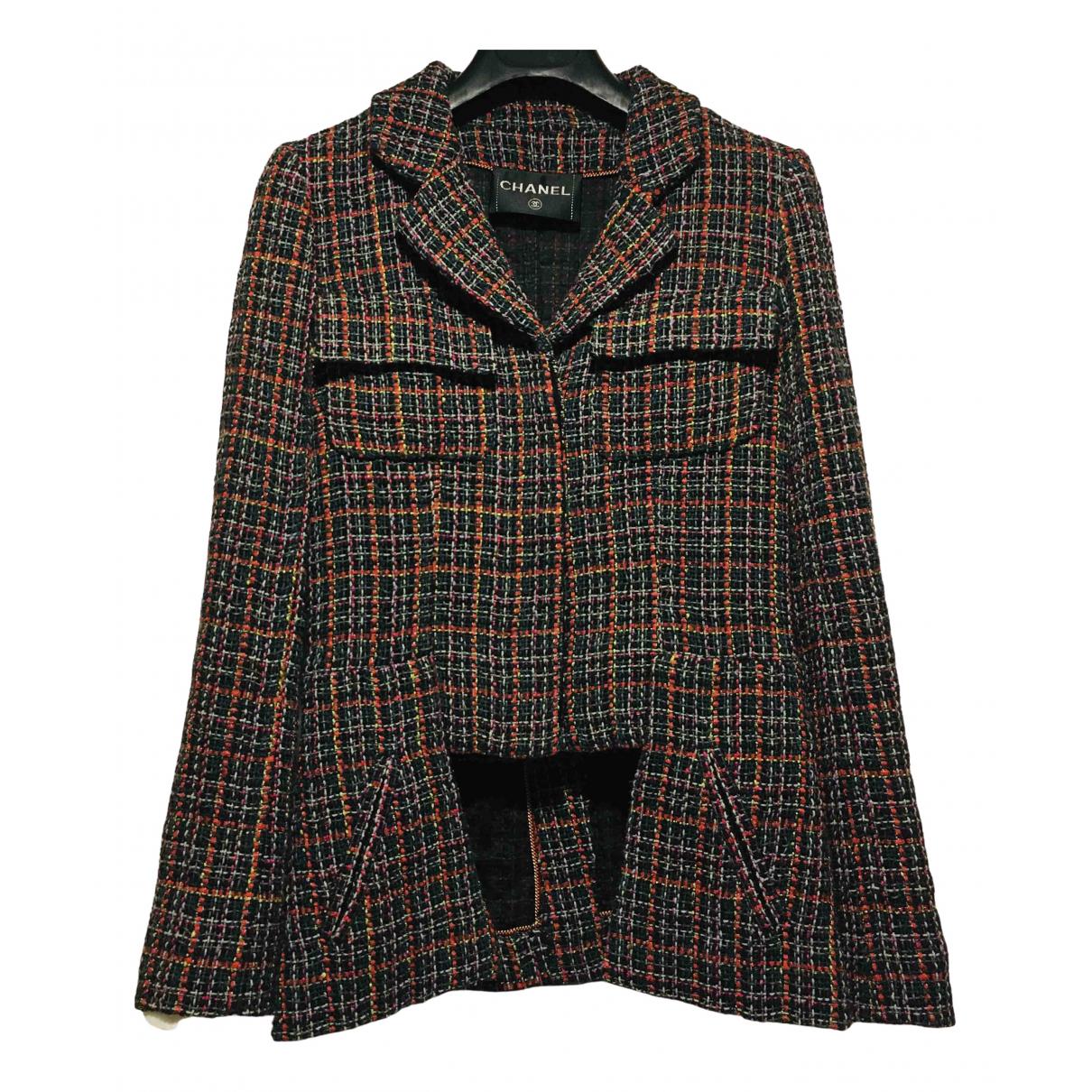 Chanel - Veste   pour femme en tweed - multicolore