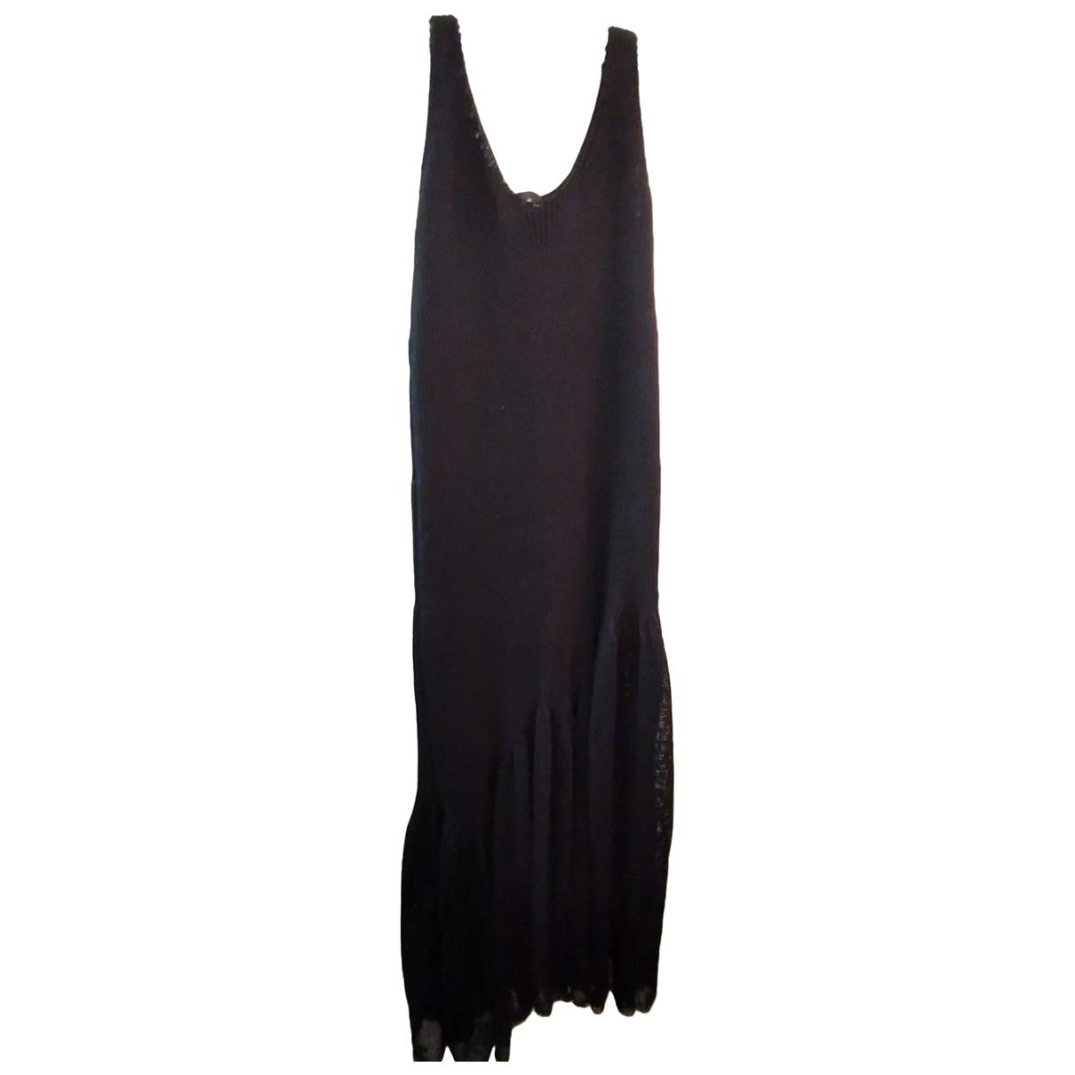 Calvin Klein 205w39nyc \N Kleid in  Schwarz Baumwolle