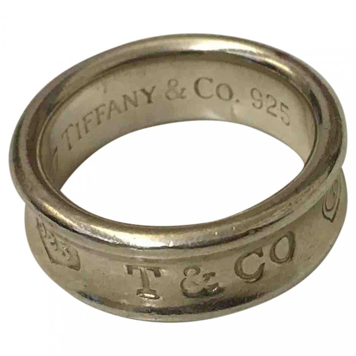 Tiffany & Co - Bague Tiffany 1837 pour femme en argent - argente