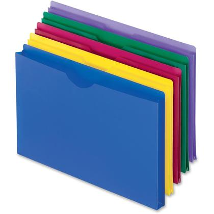 Pendaflex@ Translucent Poly File Jacket, Assorted Colors