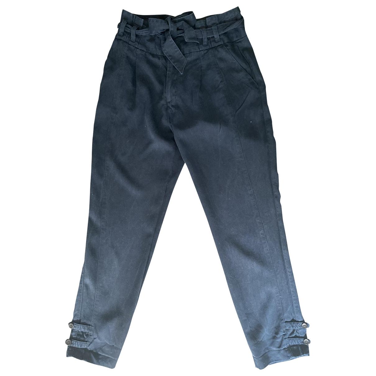 Comptoir Des Cotonniers \N Blue Trousers for Women 36 FR