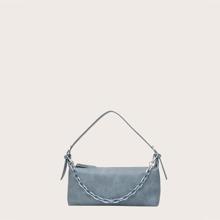 Minimalist Plain Baguette Bag