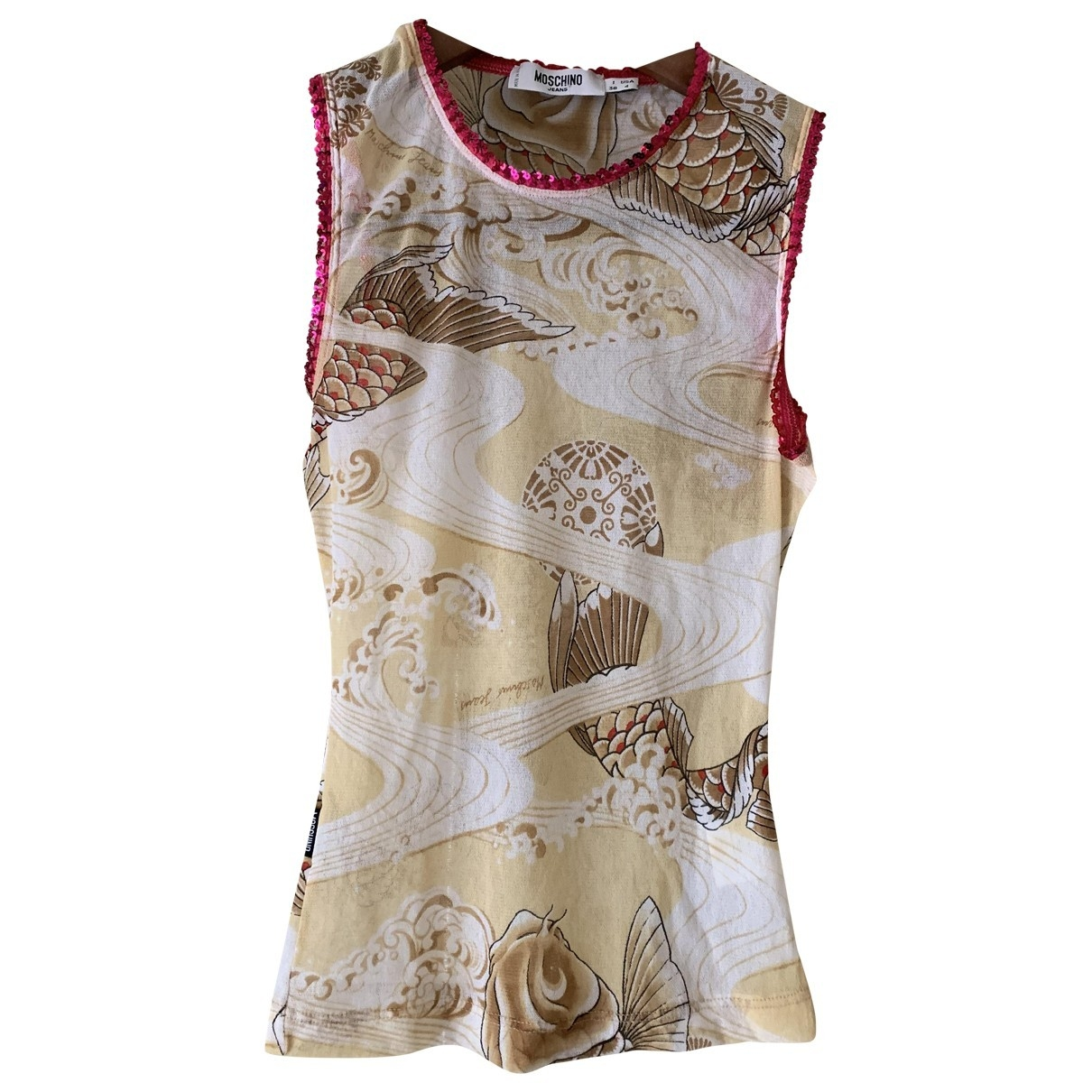 Moschino Cheap And Chic \N Beige  top for Women 38 IT