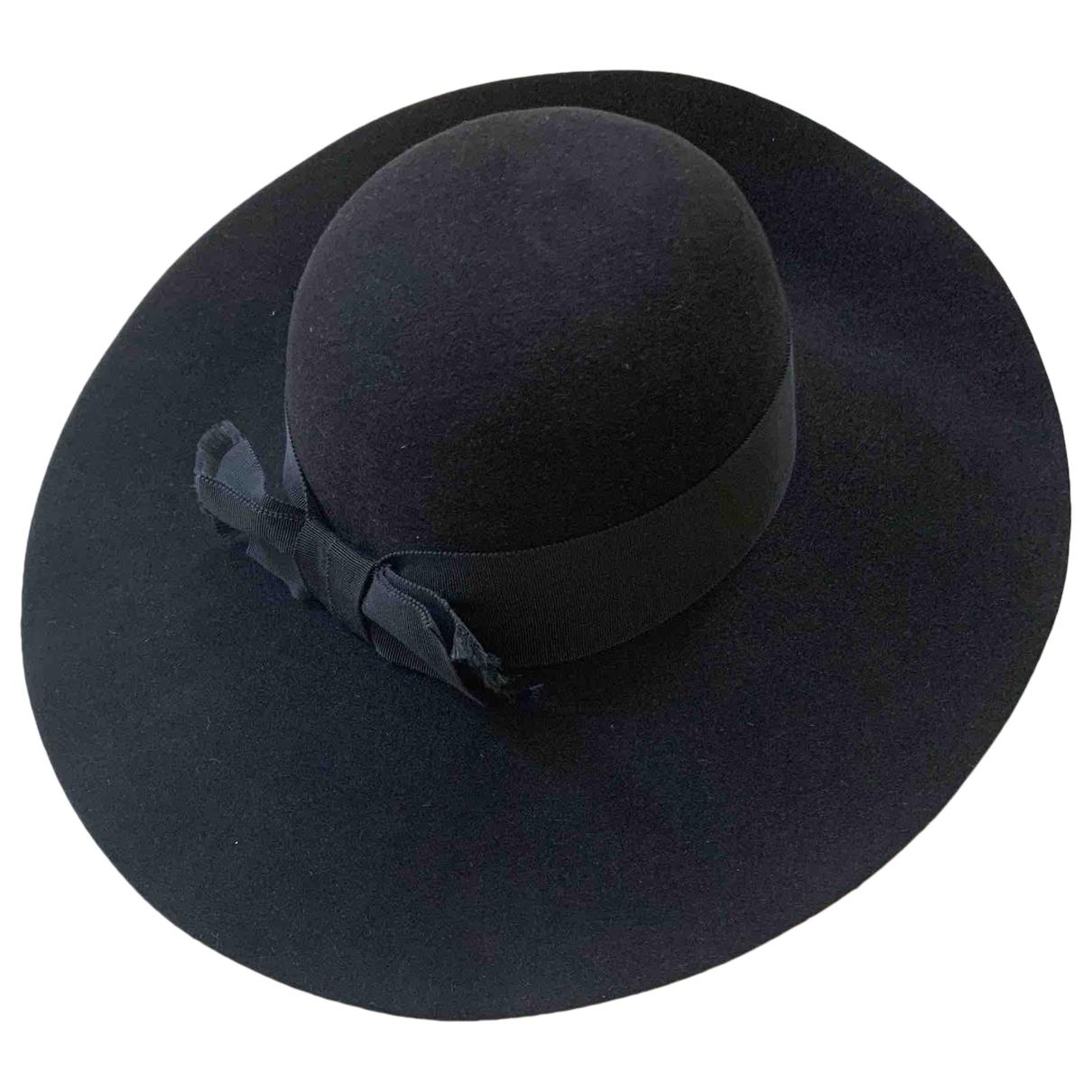 Saint Laurent \N Black Rabbit hat for Women S International