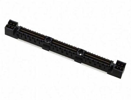 Samtec , QMS, 1 Row, Straight PCB Header (28)