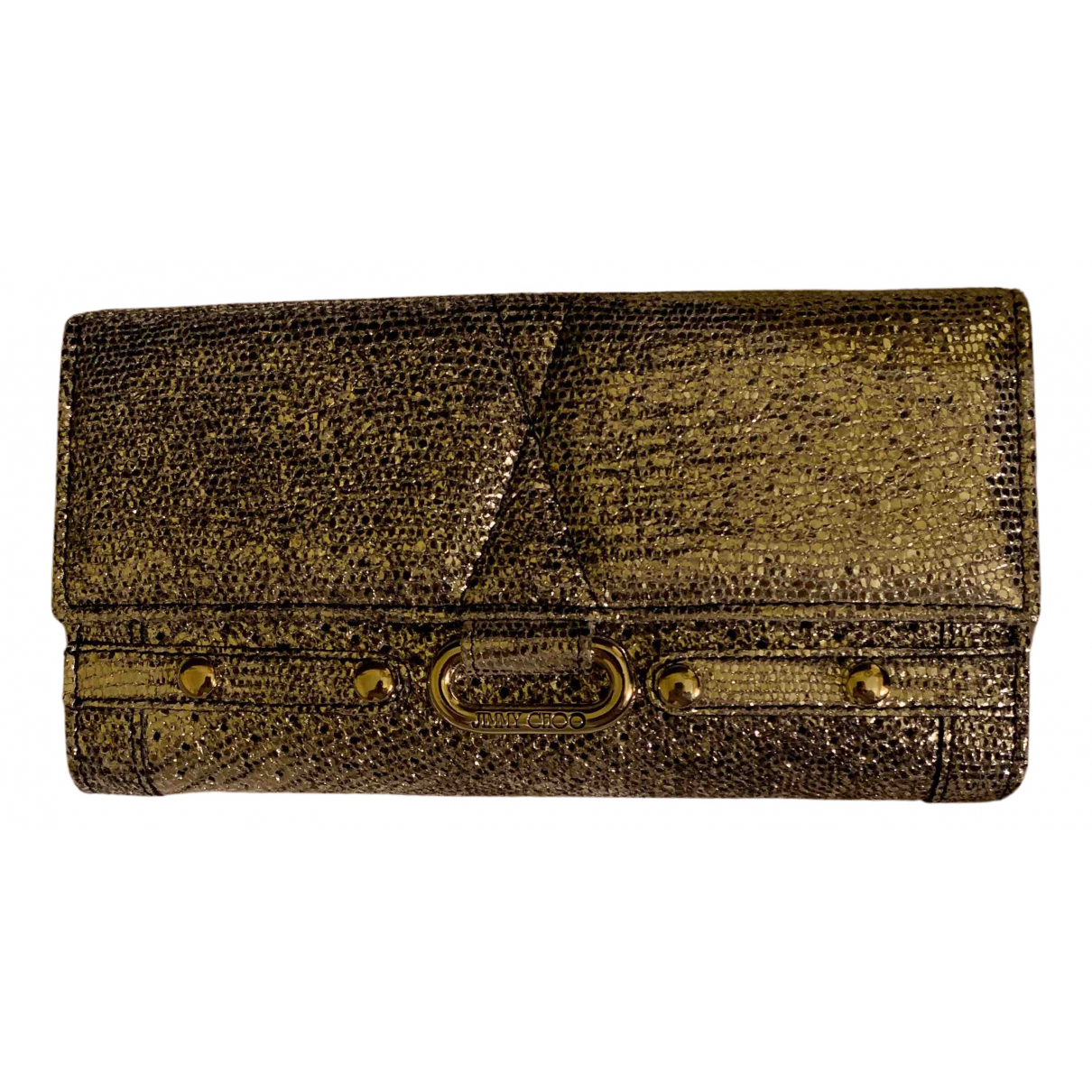 Jimmy Choo N Silver Leather wallet for Women N