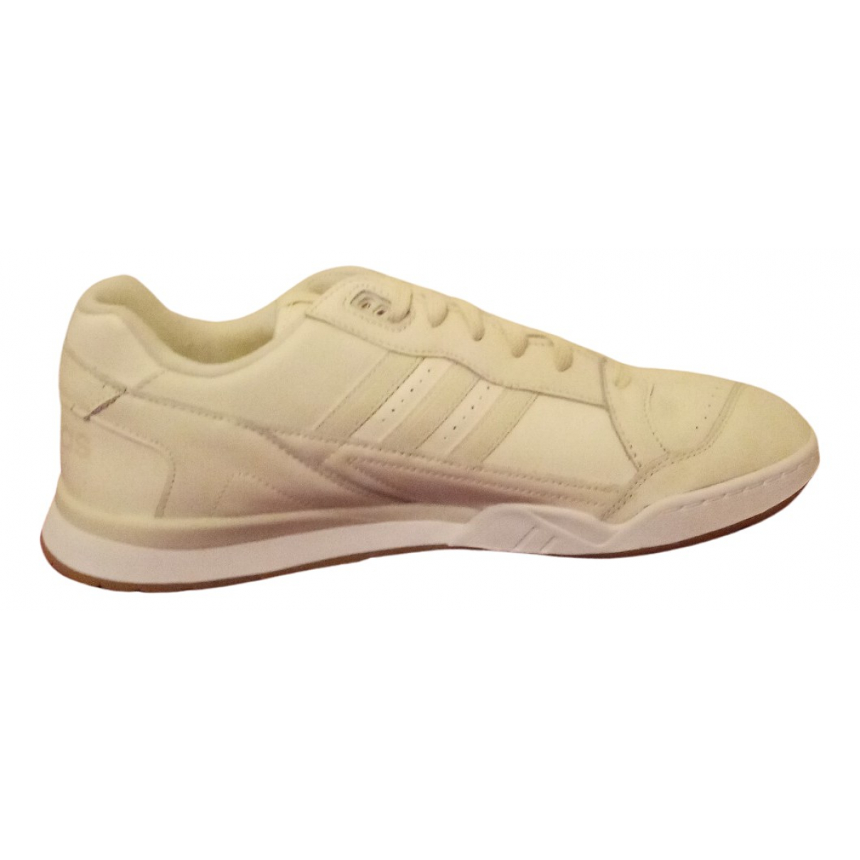 Adidas N White Leather Trainers for Men 10.5 UK