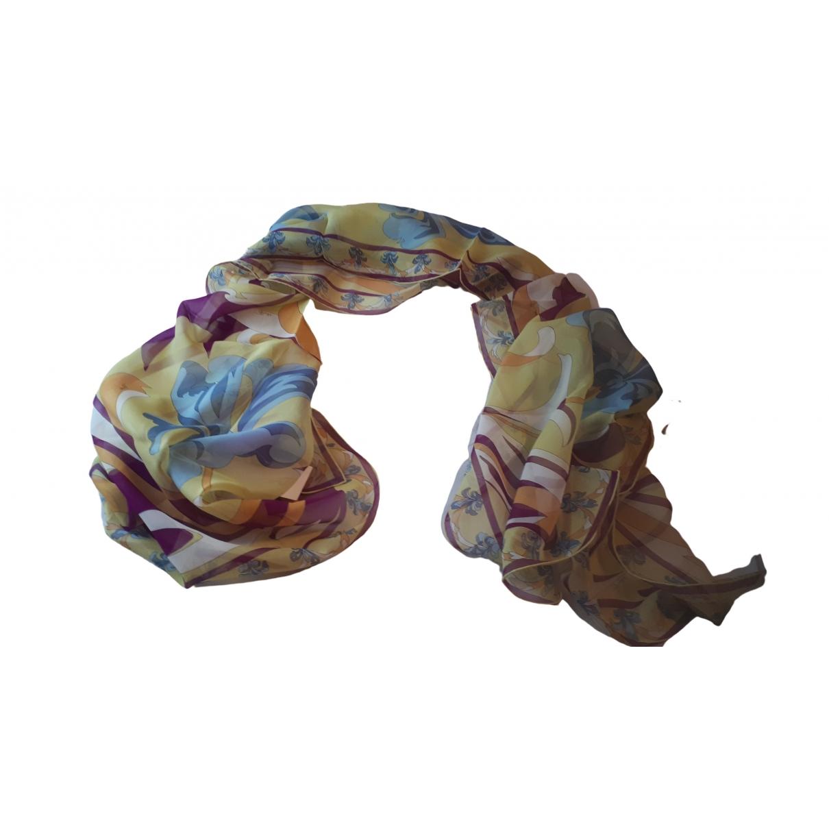 Emilio Pucci - Foulard   pour femme en soie - multicolore