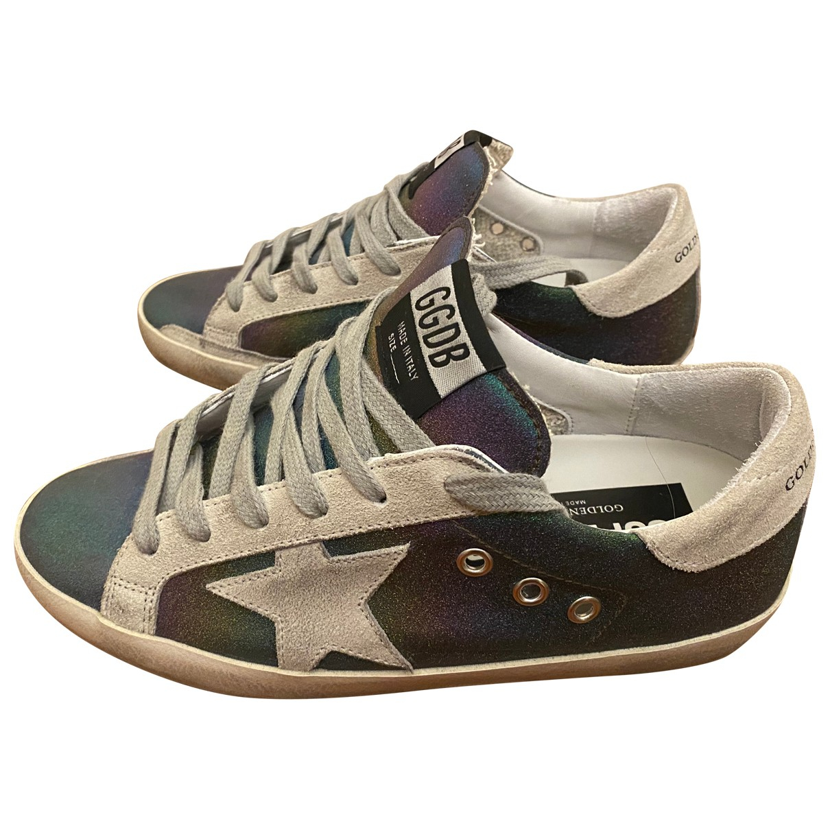 Golden Goose Superstar Multicolour Leather Trainers for Women 36 EU