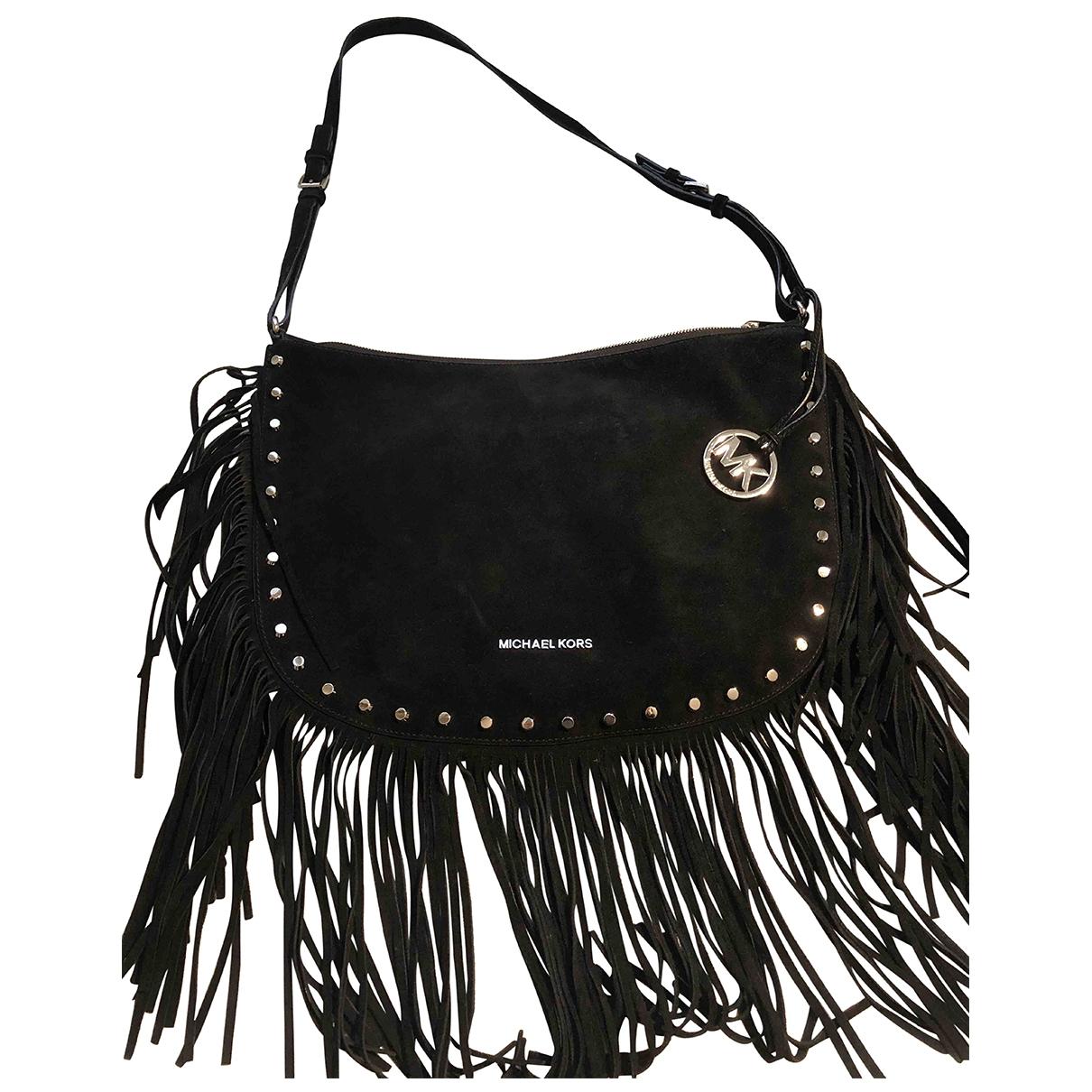 Michael Kors \N Black Suede handbag for Women \N