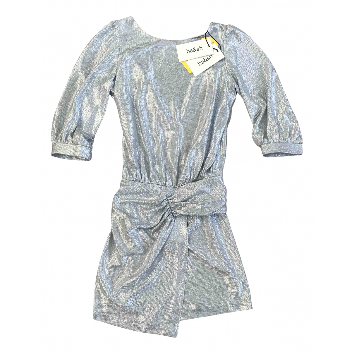 Ba&sh Spring Summer 2020 Silver dress for Women 0 0-5