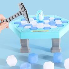 1set Penguin Ice Breaking Desktop Disassembly Toy