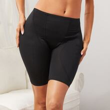 Shapewear Shorts mit Kontrast Netzstoff