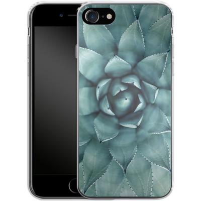 Apple iPhone 7 Silikon Handyhuelle - Beautiful Succulent von caseable Designs