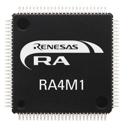 Renesas Electronics R7FA4M1AB3CFM#AA0 ARM Cortex M4 Processor & Microcontroller Development Kit (160)