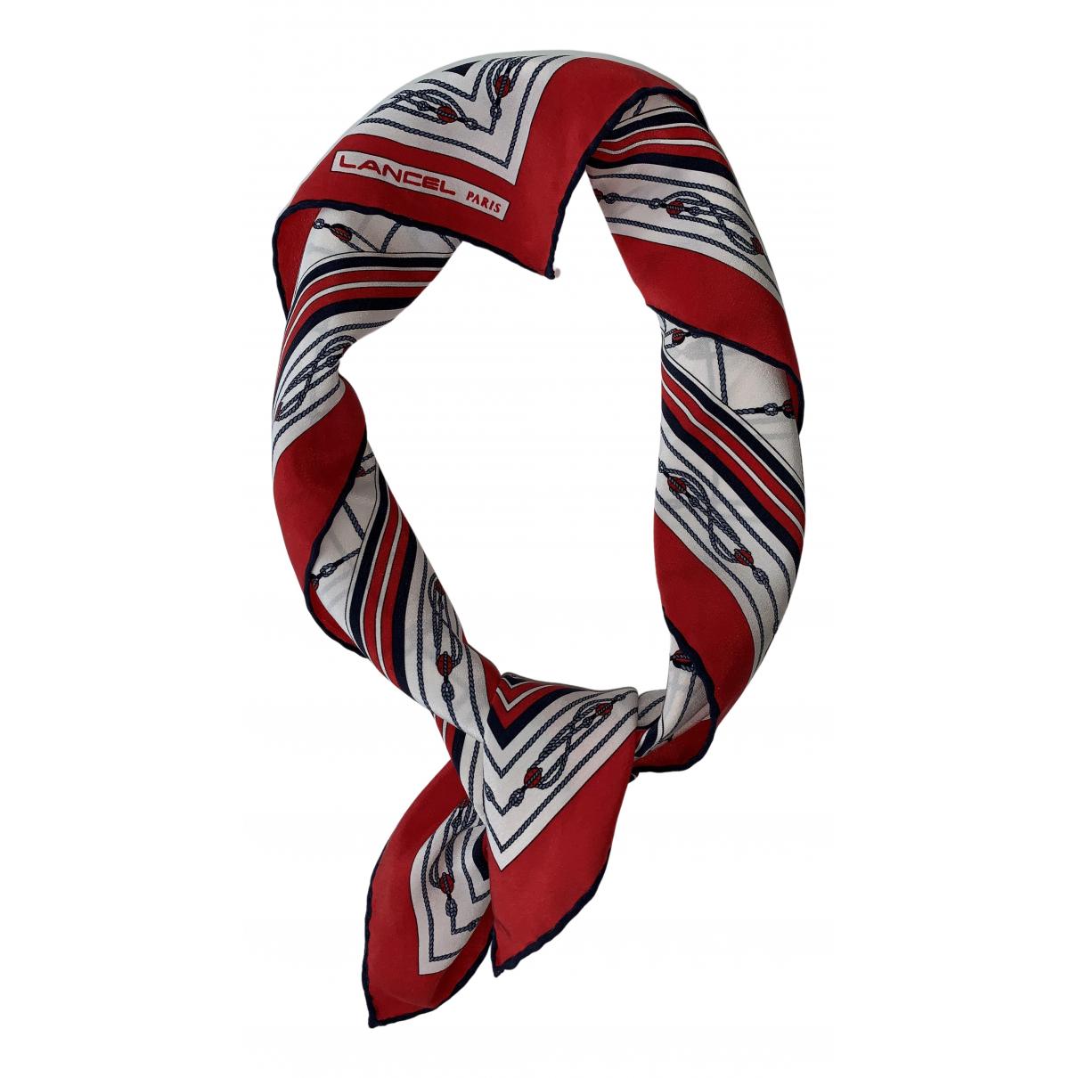 Lancel \N Multicolour Silk scarf for Women \N