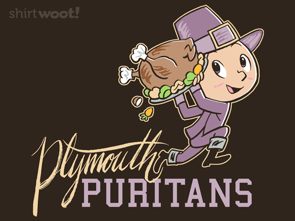 Plymouth Puritans T Shirt