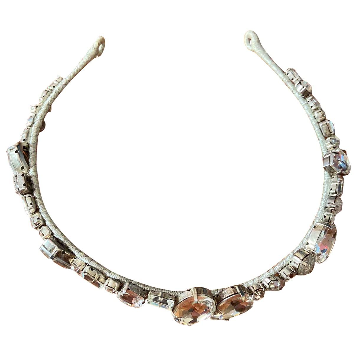 Jenny Packham \N Haarschmuck in  Silber Kristall