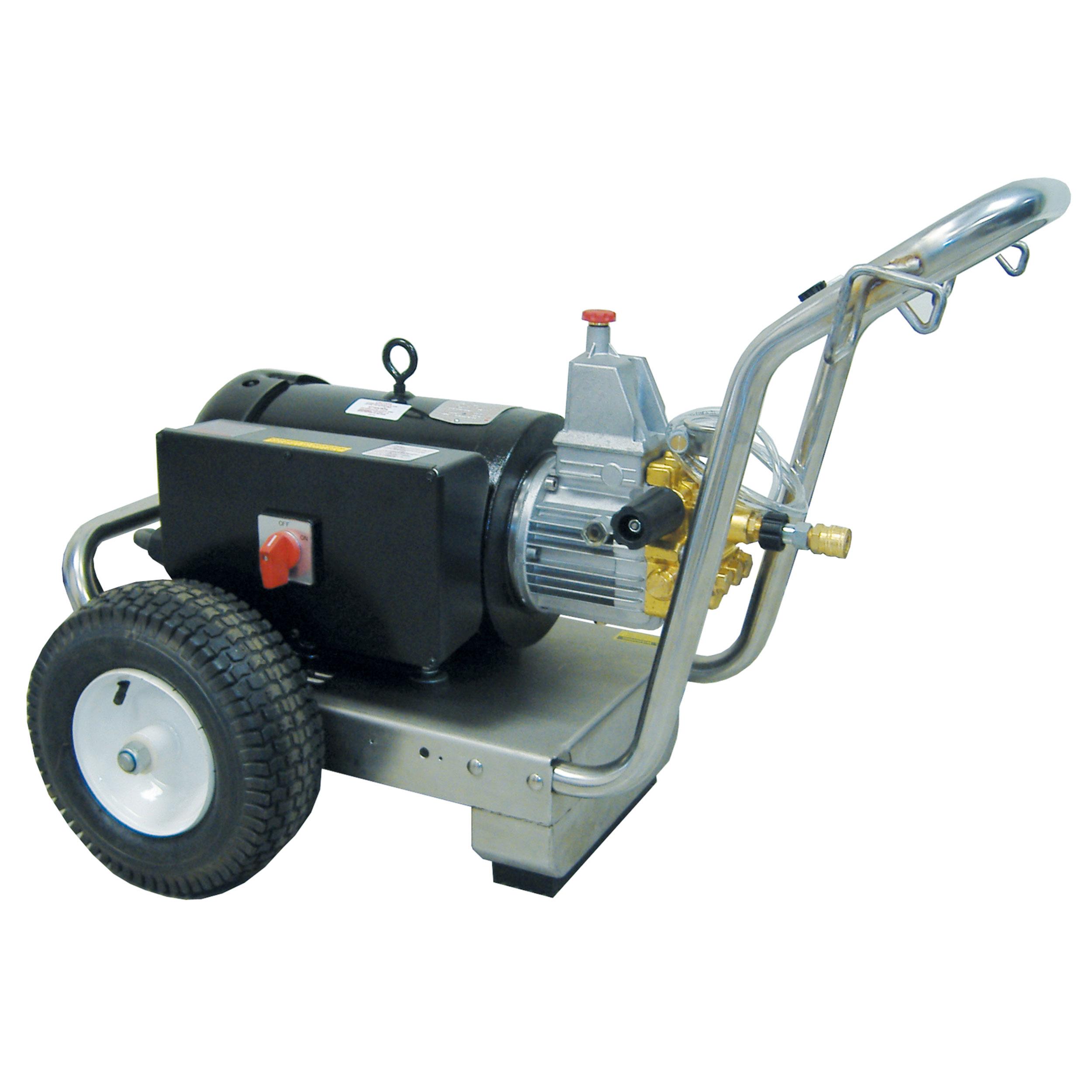 E300-3 Phase Pressure Washer, Cold Water, 220V/440V, 3PH