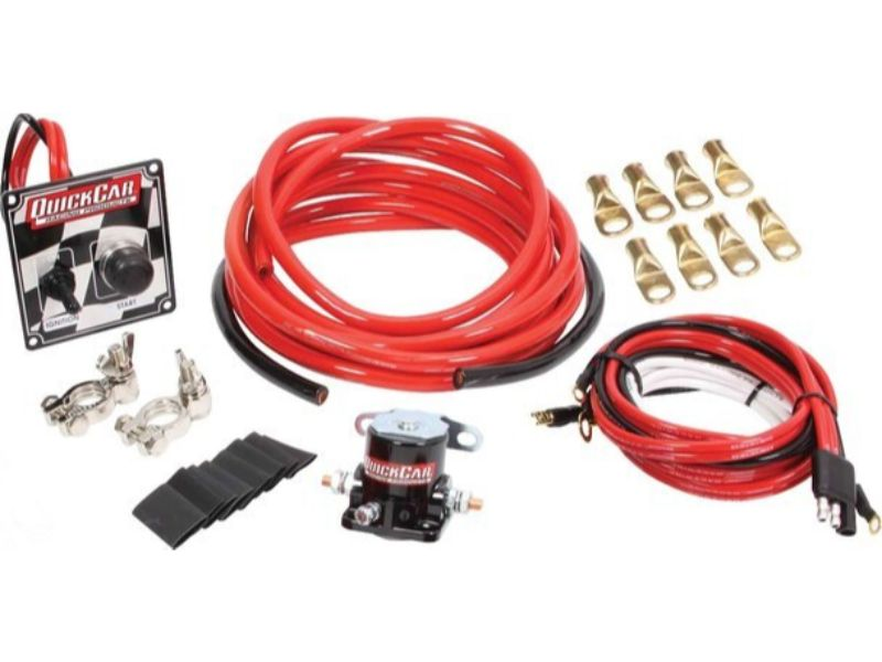 Quickcar Racing Products Wiring Kit 4 Gauge with o Disconnect with 50-102 Ign