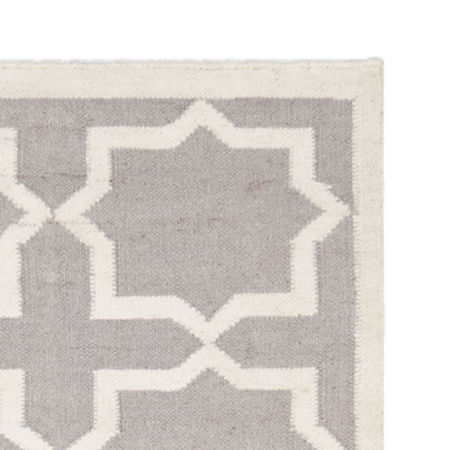Safavieh Walter Hand Woven Flat Weave Area Rug, One Size , Gray