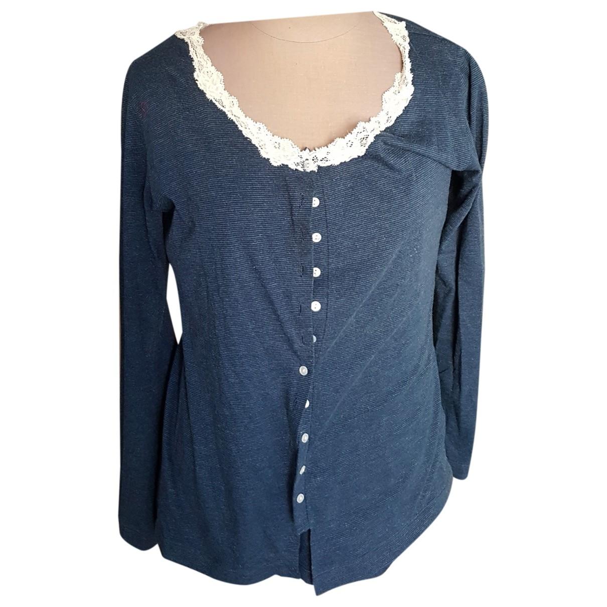 La Perla \N Blue Cotton Knitwear for Women 40 FR