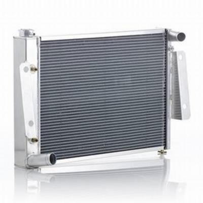 Be Cool Replacement Aluminum Radiator for 4,6 or 8 Cylinder Engines and Automatic Transmission - 62223