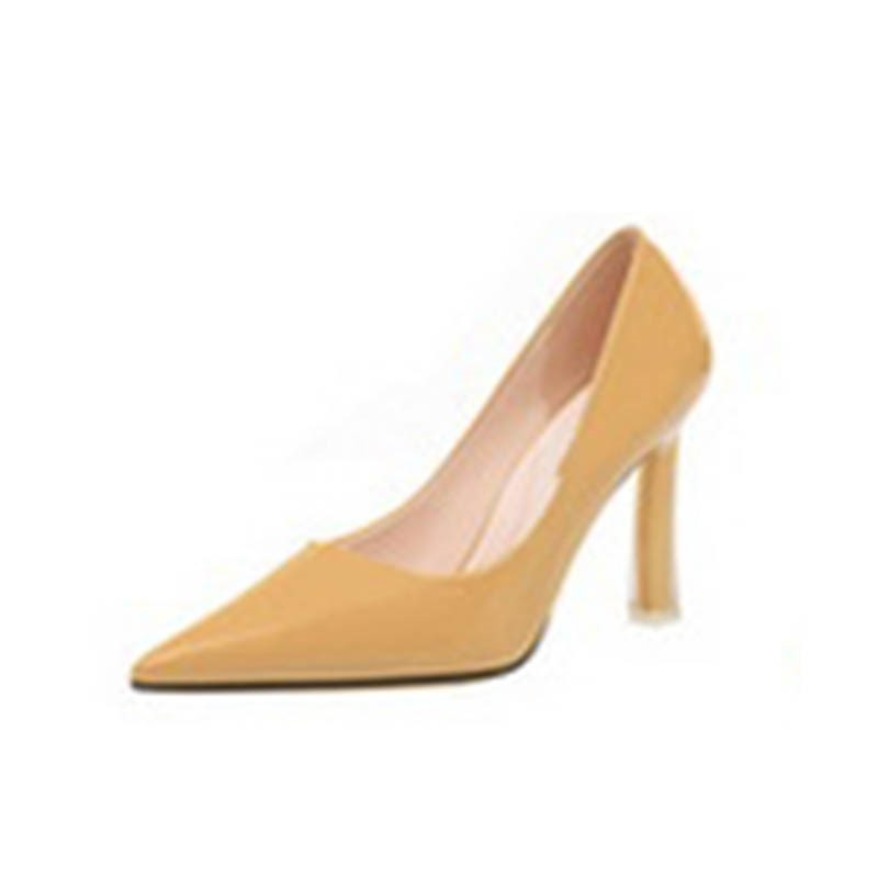 Ericdress Plain Stiletto Heel Pointed Toe Slip-On Women's Pumps