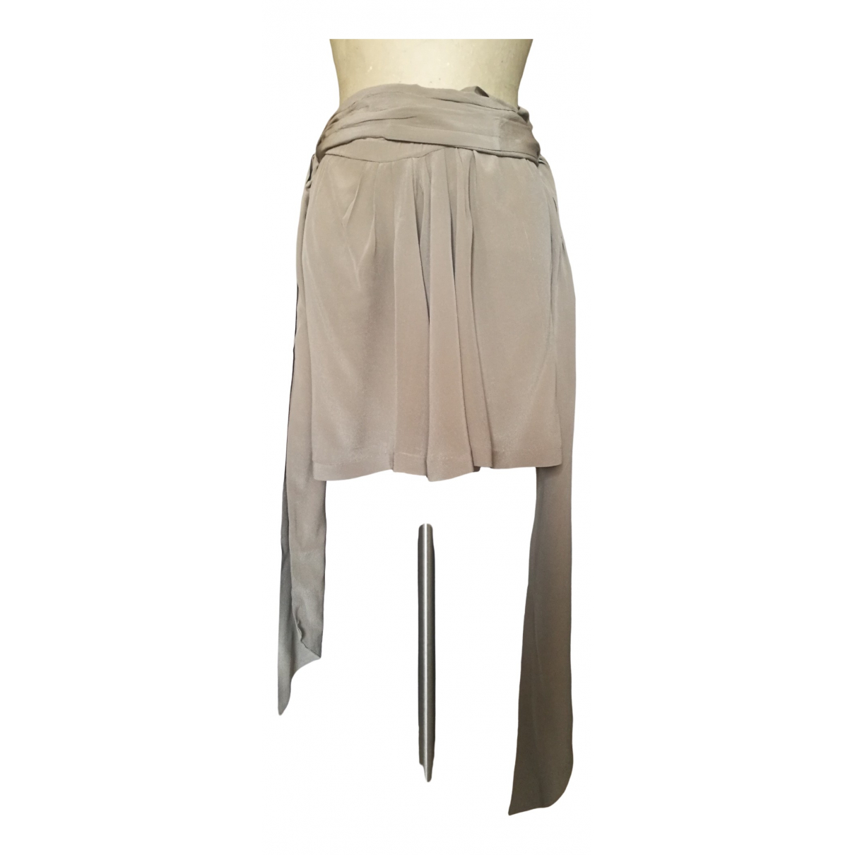 Isabel Marant \N Grey Silk skirt for Women 0 0-5