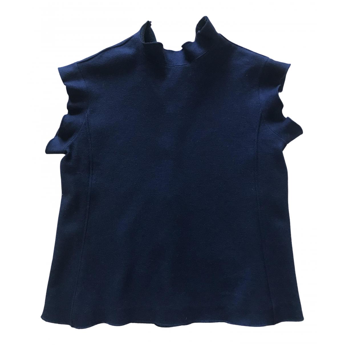 Yves Saint Laurent \N Blue Wool Shirts for Men S International
