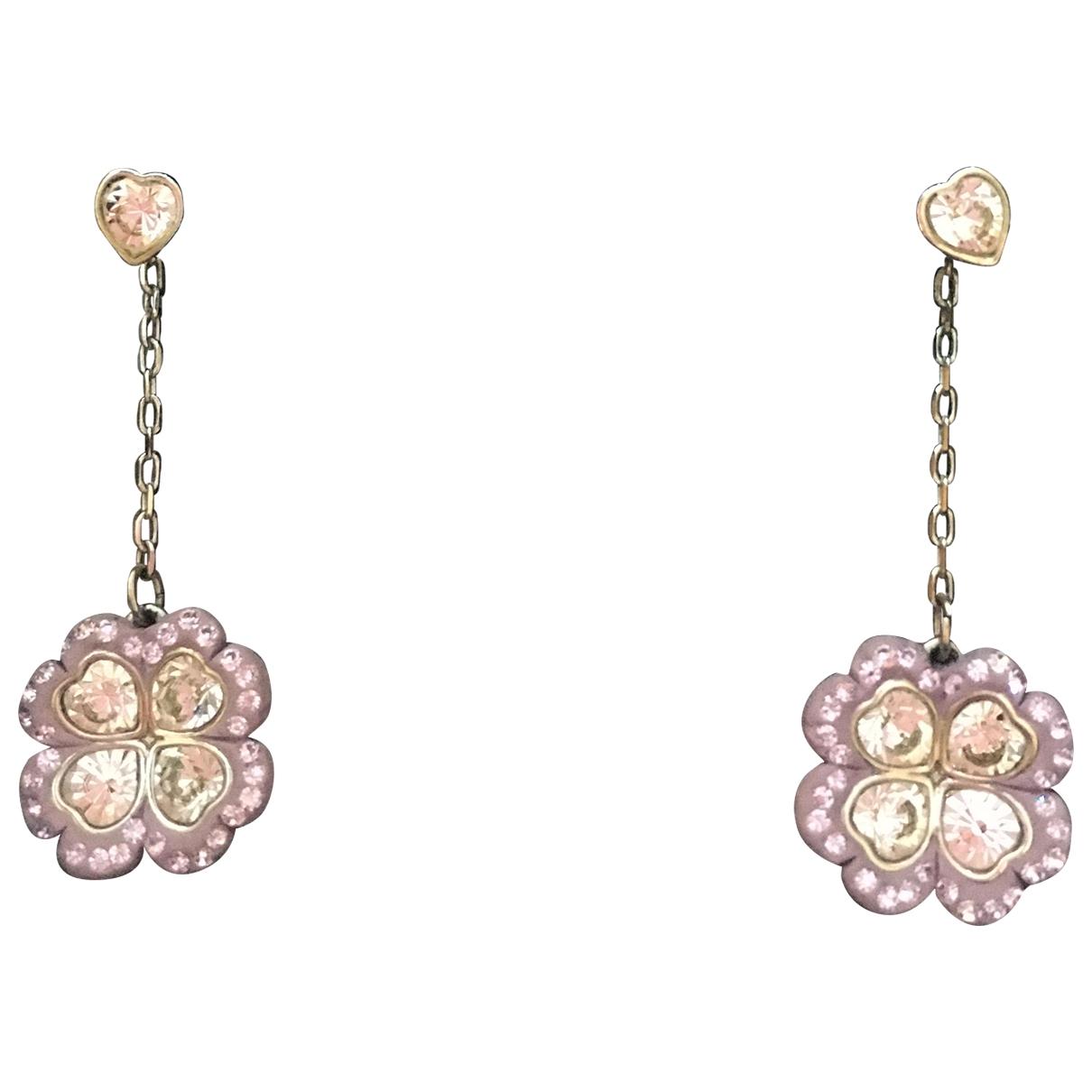 Swarovski - Boucles doreilles Fit pour femme en cristal - rose